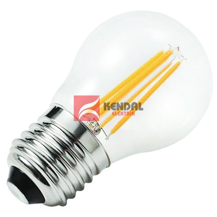 KES497 LED FLAMANLI AMP. 4W E27 BEYAZ